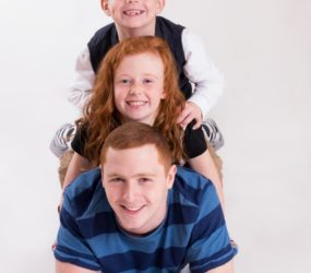 Family Photography, Mobile Studio Portrait Session