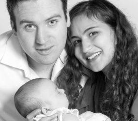 Newborn & Family Photography, Mobile Studio Portrait Session