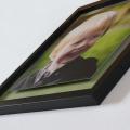 Black Edge Float Frame Close View