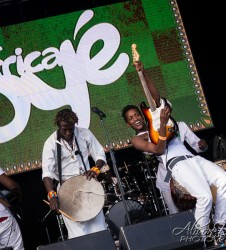 Sarabi at Africa Oye Music Festival