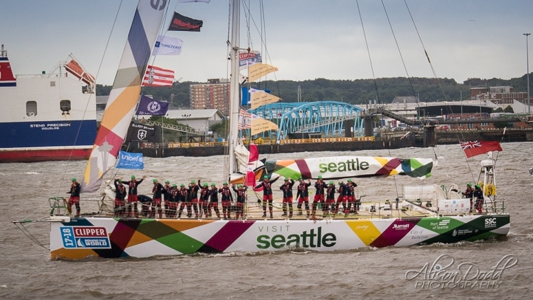 Seatle Clipper 2017-18 Parade of Sail