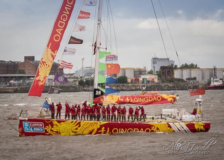 Qingdao Clipper 2017-18 Parade of Sail