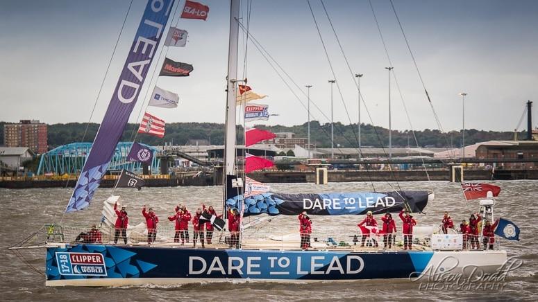 Dare to Lead Clipper 2017-18 Parade of Sail
