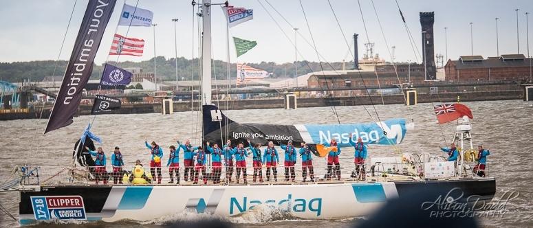 Nasdaq Clipper 2017-18 Parade of Sail