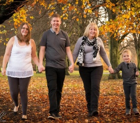 Family Portrait Photography, Location Photoshoot, Liverpool