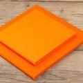 Lifestyle Folio-6x6inch & 8x8inch-Tangerine