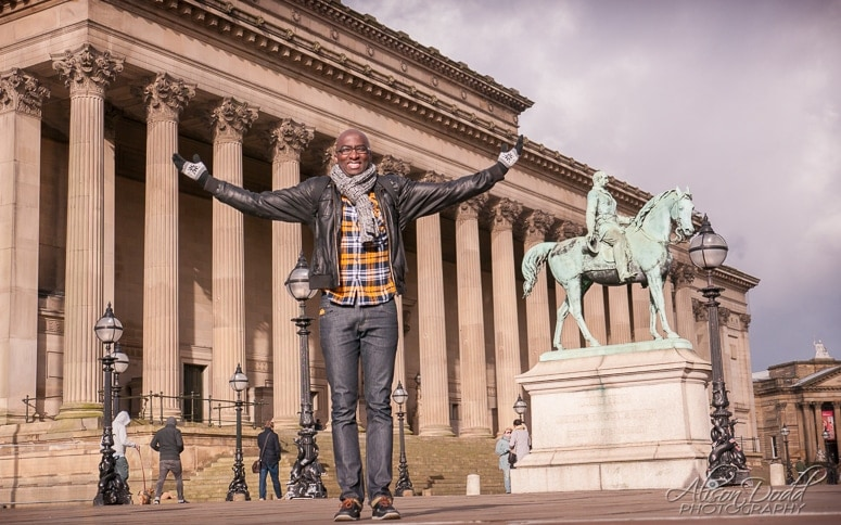 Location Portrait Session-St Georges Hall, Liverpool