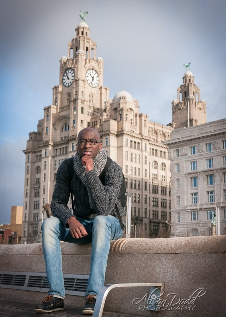 Location Portrait Session-Pier Head, Liverpool