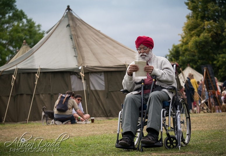 A festival goer at at The Good Life Experience Festival 2016