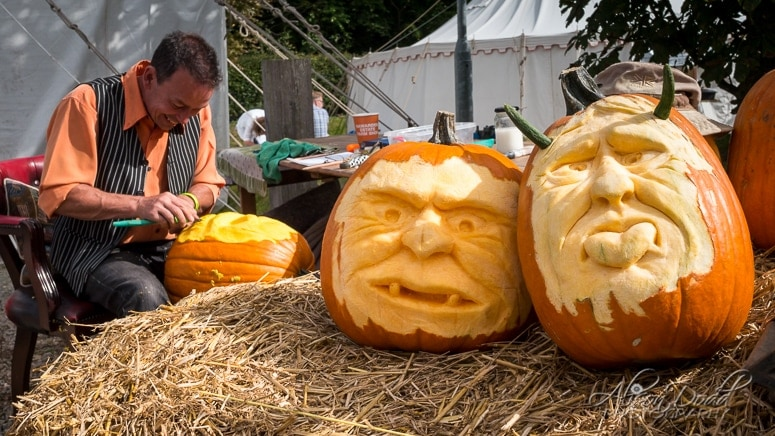 Pumpkin Carving at The Good Life Experience Festival 2016