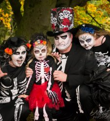 Lets Get Spooky - Roy Castle Lung Cancer Foundation - Spooky Welly Walk Event