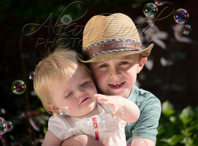Children's Summer Portraits By Liverpool Children's Photographer Alison Dodd