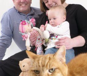 Family & Pet Photography, Mobile Studio Portrait Session