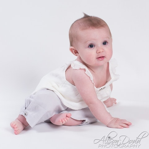 Mobile Studio Baby Portraits By Alison Dodd Photography