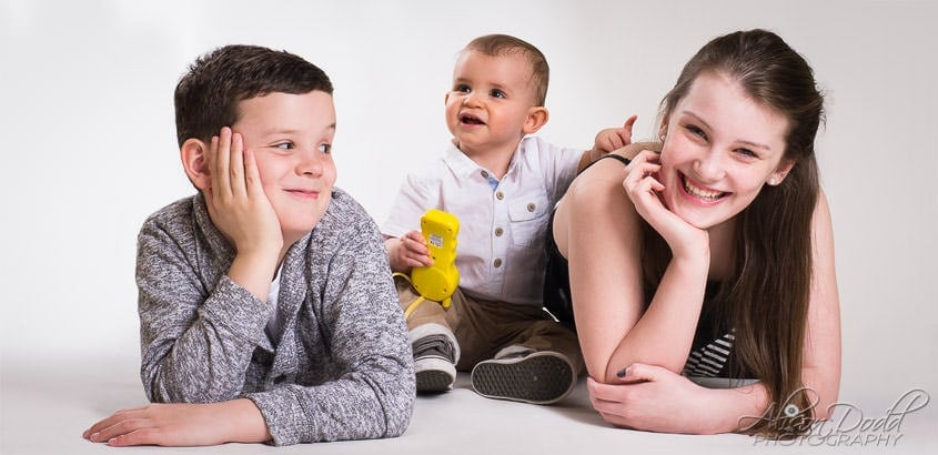 Family Studio Portraits By Alison Dodd Photography