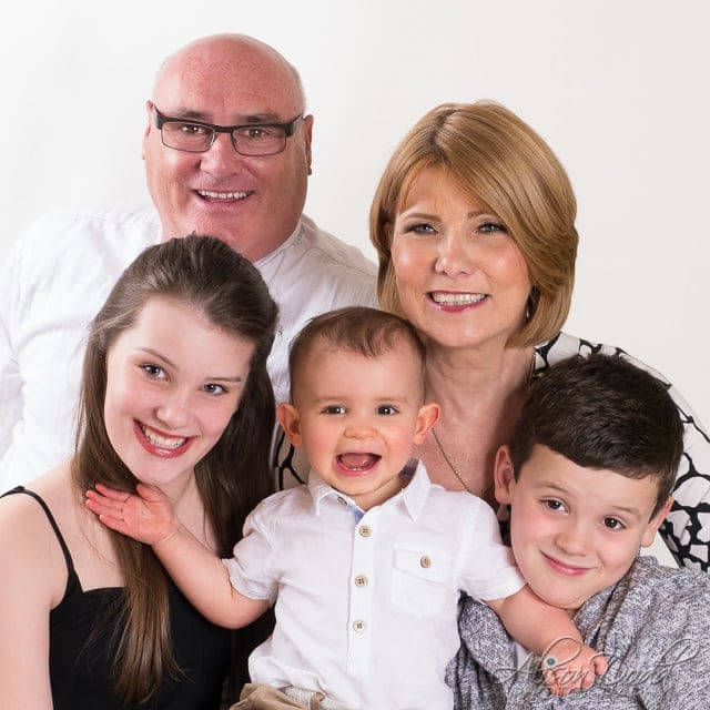 Family Studio Portraits By Alison Dodd Photography