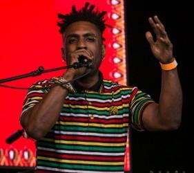 Omar at Africa Oyé 2015