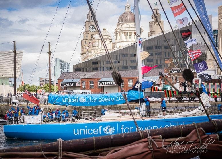 Unicef Clipper 2017-18 Parade of Sail