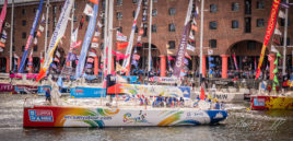 Winning Clipper of The Round the World Yacht Race 2017-18