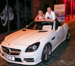 Travel Weekly Roadshow, sponsor and travel agent prize winner