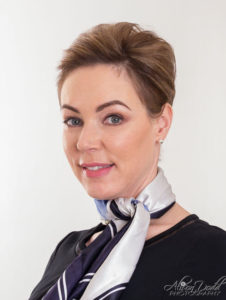 Air Hostess/Flight Attendant Headshot Photography