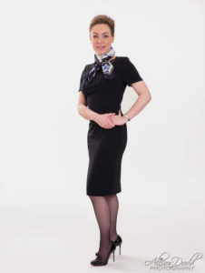 Air Hostess/Flight Attendant Headshot Photography