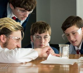 Chemistry Session – Oxford Cambridge Challenge Day held at The Museum of Liverpool
