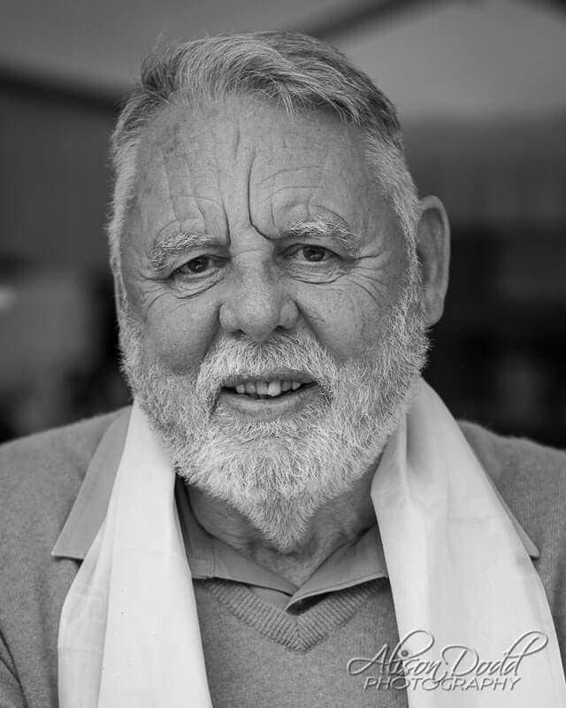Mr. Terry Waite CBE, Headshot Photography