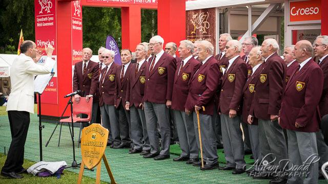 Llangollen Male Voice Choir, Eisteddfod Event