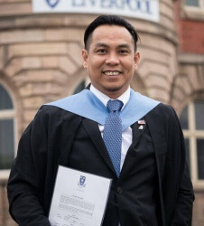 Graduation at Liverpool Metropolitan Cathedral