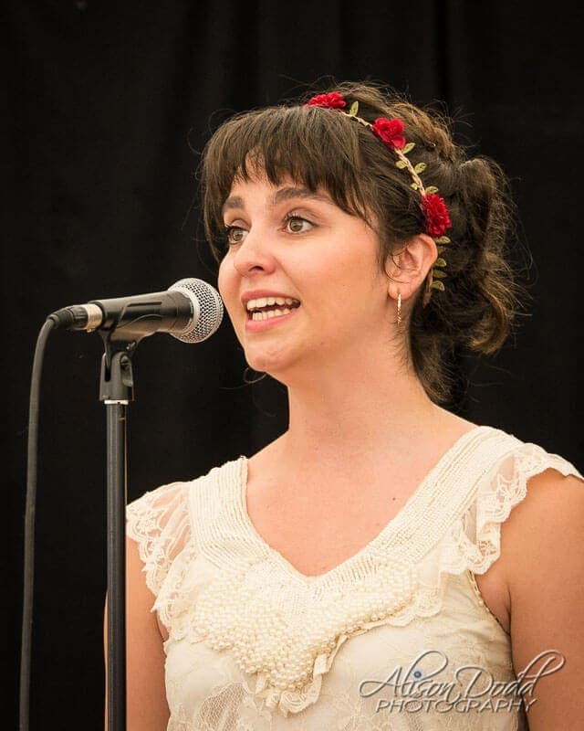 Soloist at Eisteddfod Event