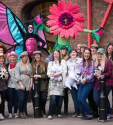 Themed Hen Party Photography - Albert Dock, Liverpool