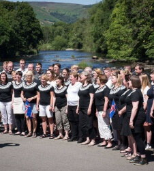 Welsh Choir_Eisteddfod Festival Event