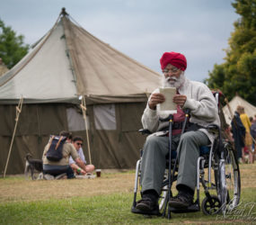 Event Photography - A Festival Goer at The Good Life Experience