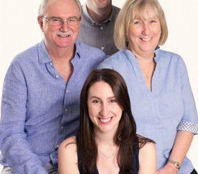 Mobile Studio Portrait Session - Family Photography