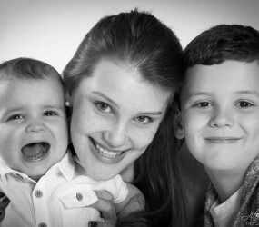 Family Photography, Mobile Studio Portrait Session