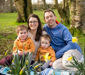 Family Portrait Photography, Calderstones Park, Liverpool