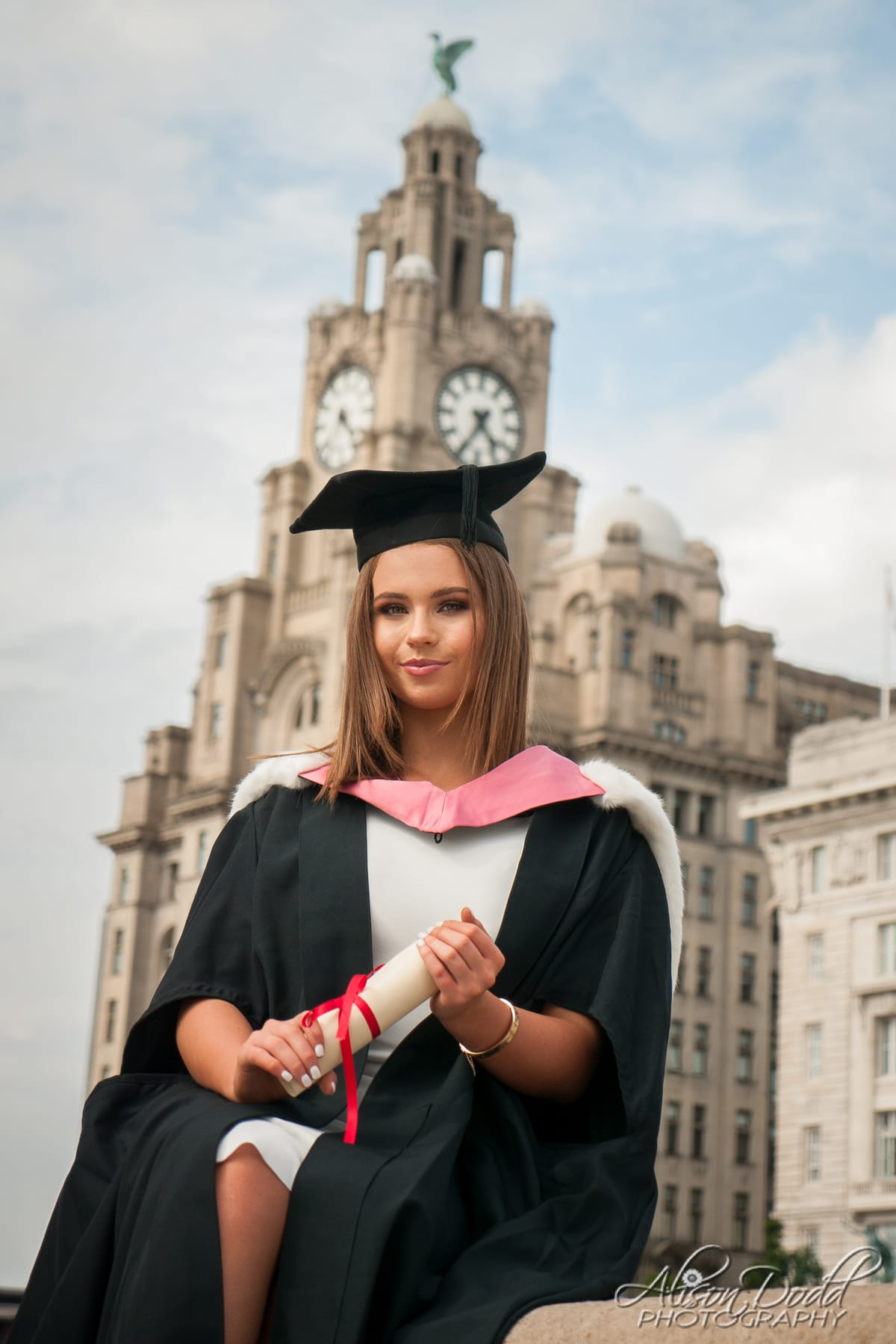 Graduation Photography Pier Head Liverpool