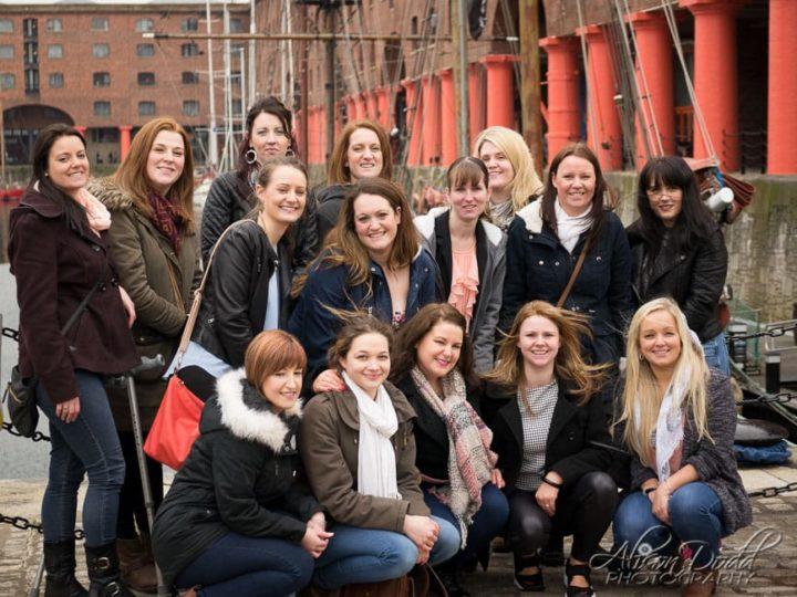 Hen Party - Albert Dock, Liverpool