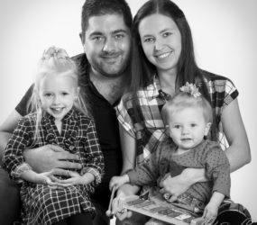 Mobile Studio Session, Liverpool Family Photographer