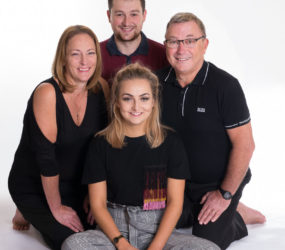 Mobile Studio Session, Liverpool Family Photography