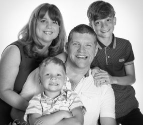Family Portrait Photography - Mobile Studio Session