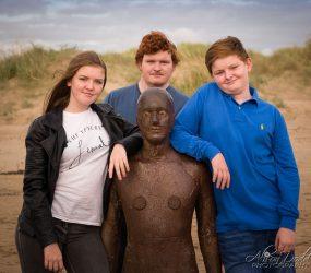 Family Portrait Photography, Crosby Beach