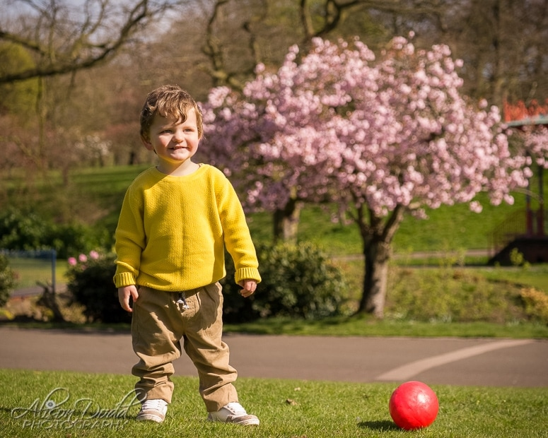 Children's Outdoor Photoshoot, Sefton Park Liverpool