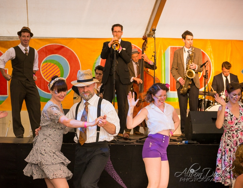 The Swing Patrol with live music by The Shirt Tail Stompers at The Good Life Experience
