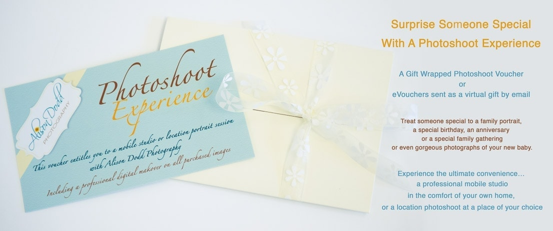 Photoshoot Experience Gift Voucher By Alison Dodd Photography
