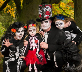 Lets Get Spooky - Roy Castle Lung Cancer Foundation - Spooky Welly Walk - Charity Fundraising Event Photography