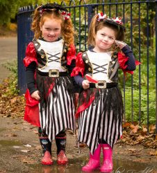 Pirate Princess's - Roy Castle Spooky Welly Walk Event
